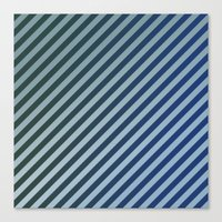stripes Canvas Prints featuring Stripes by David Zydd