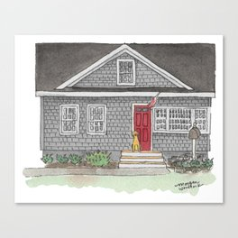 The Zupe Home Canvas Print