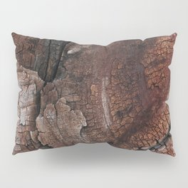 burned wood texture Pillow Sham