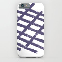 La liberte abstract creative illustration iPhone Case