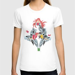 ponyo on the cliff by the sea T-shirt