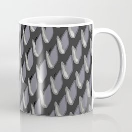 Just Grate Abstract Pattern With Heather Background Coffee Mug