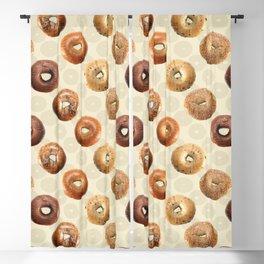Bagels Blackout Curtain