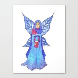 A December Light Fairy Canvas Print