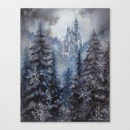 Snow Starlight Canvas Print