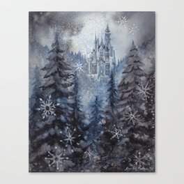 Snow Starlight Canvas Print