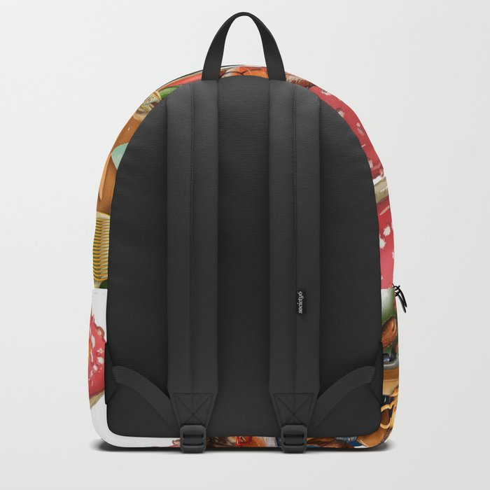 Autumn tea party #3 Backpack