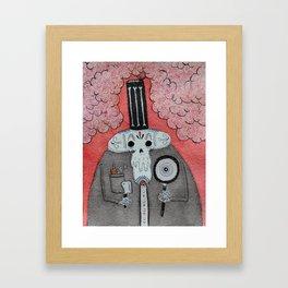El Chef  Framed Art Print