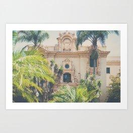 Balboa Park architecture ... Art Print