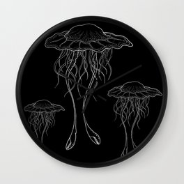 #3 Jellyfish Series Wall Clock