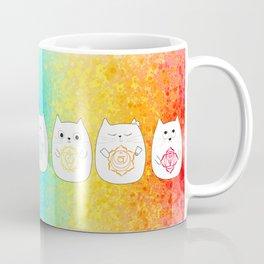 Chakra cats Coffee Mug
