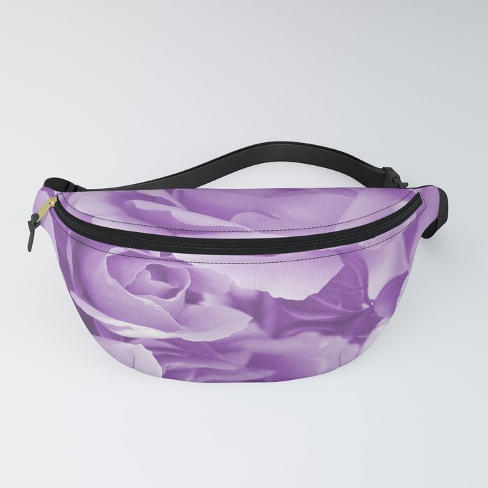 Violet Rose Bouquet For You - Valentine's Day #decor #society6 #homedecor Fanny Pack
