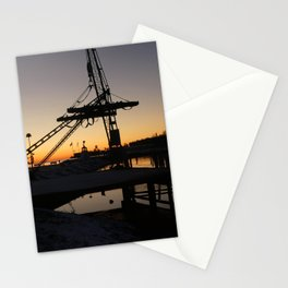 sunrise in my little town Stationery Cards