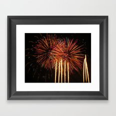 Fireworks Series 3 Framed Art Print