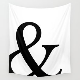 Typography, Ampersand, And Sign Wall Tapestry