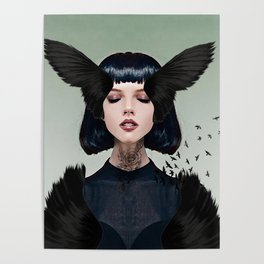 Wings of a Dark Dove Poster