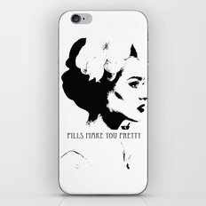 Pills Make You Pretty. QUESTIONABLE ETHICS. iPhone & iPod Skin