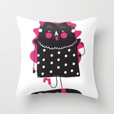 Be That Lady Throw Pillow
