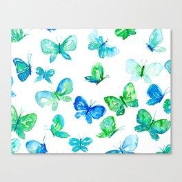 Butterflies in Flight Canvas Print