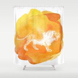 Color Spot Safari Lion Shower Curtain
