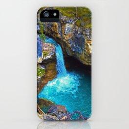 Stanley Waterfall & Beauty Creek, Jasper National Park iPhone Case