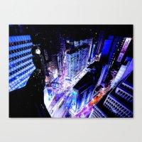 vertigo Canvas Prints featuring Vertigo by Danielle Tanimura