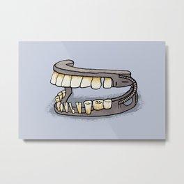 George Washington's Dentures Metal Print