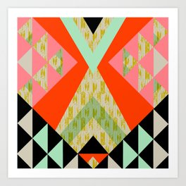 Arrow Quilt Art Print