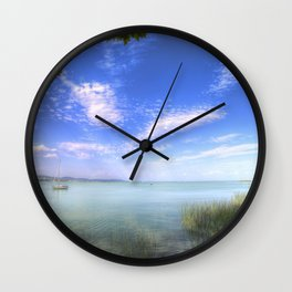 Lake Balaton Hungary Wall Clock