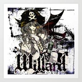 WILLARD THE WENCH Art Print