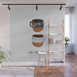 Coffee Before Talkie, Funny Quotes Wall Mural