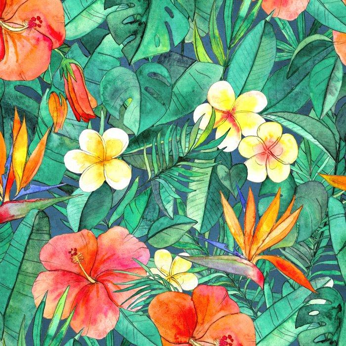 Classic Tropical Garden Leggings