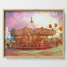 Merry Go Round Serving Tray