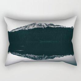 Mount Rainier Reflections Rectangular Pillow