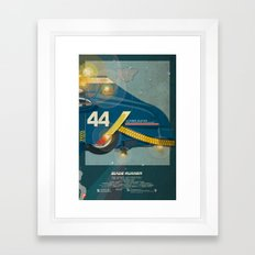 Spinner 995 III/III Blade Runner Framed Art Print