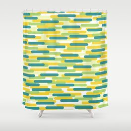 Fast Capsules 2 Shower Curtain