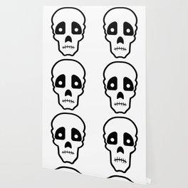 Sad skull Wallpaper