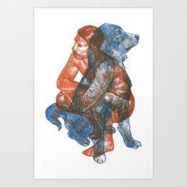 Mammal : Equivalent  Art Print