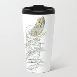 Miss Owl and Butterfly friend Travel Mug