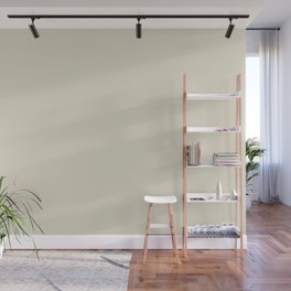 Pale Beige Solid Color Inspired by Behr Climate Change S350-1 Wall Mural