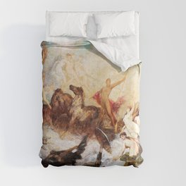 Hans Makart - The victory of light over darkness - Digital Remastered Edition Comforters
