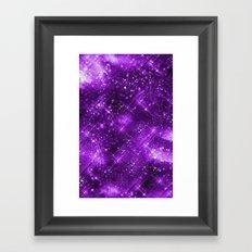 Dazzling Series (Purple) Framed Art Print