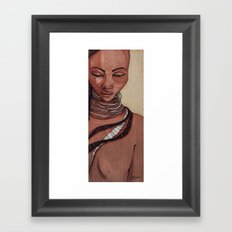 Black Venus Framed Art Print