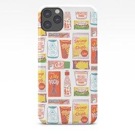 Asian Snacks iPhone Case