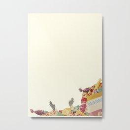 Drowning in Chocolate Metal Print