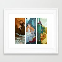 shakespeare Framed Art Prints featuring Shakespeare by Supergna