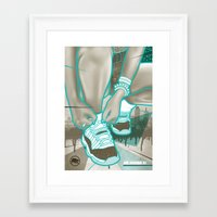 air jordan Framed Art Prints featuring Air Jordan XI by Maurice Creative
