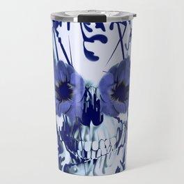 Limbo in navy color palette Travel Mug