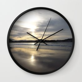 Beach Reflections II Wall Clock