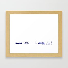 Belo Horizonte II Framed Art Print